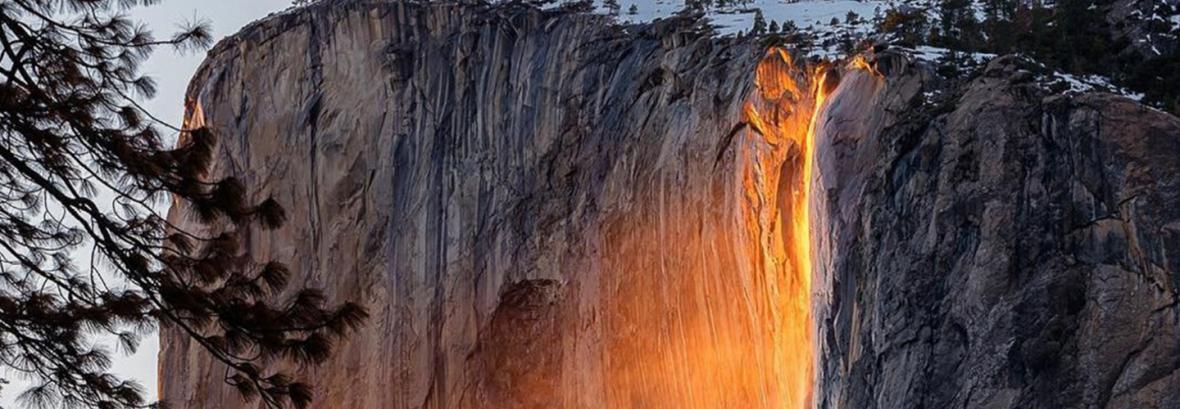 پدیده آبشار آتشین سال جاری قابل رویت نخواهد بود│تغییرات اقلیم آبشار آتشین را خشک کرد پدیده آبشار آتشین سال جاری قابل رویت نخواهد بود│تغییرات اقلیم آبشار آتشین را خشک کرد