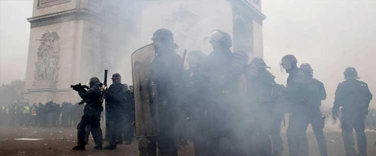 افزایش خودکشی در پلیس فرانسه