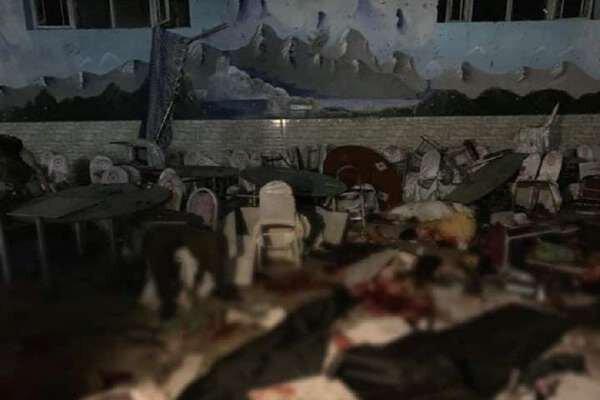 انفجار در یک تالار عروسی در کابل، 40 تن کشته شدند