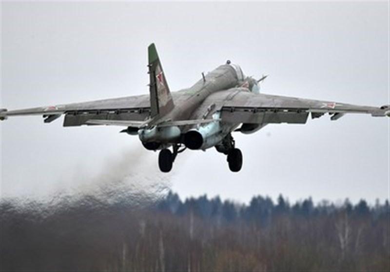 سقوط یک فروند جنگنده سوخو-25 در جنوب روسیه