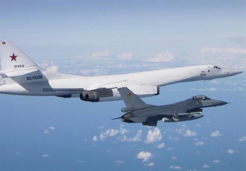 نزدیک شدن جنگنده های 5 کشور ناتو به هواپیماهای روسیه در دریای بالتیک