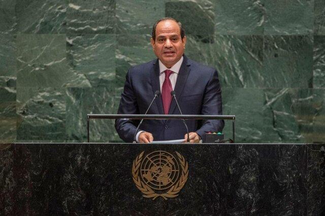 سیسی خواستار توقف مداخلات خارجی در لیبی