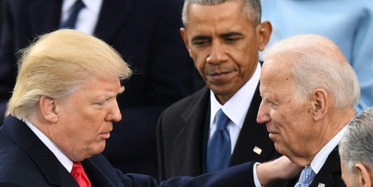 حمله ترامپ به جو بایدن با الفاظ رکیک
