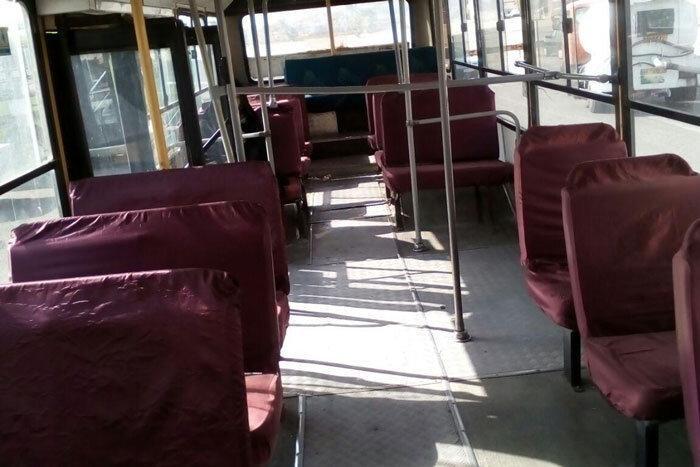 نفس اتوبوس ها به شماره افتاده