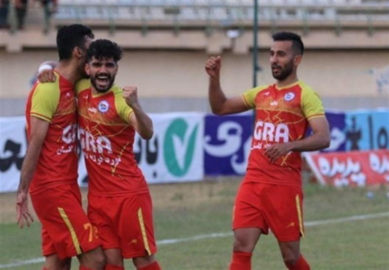لیگ دسته اول فوتبال، توقف گل ریحان در تبریز و برتری ملوان، مس رفسنجان و بادران